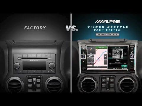 Awesome Jeep Wrangler Alpine 9 Speaker System  Jeep wrangler