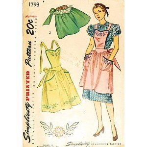 Apron with or Without Bib