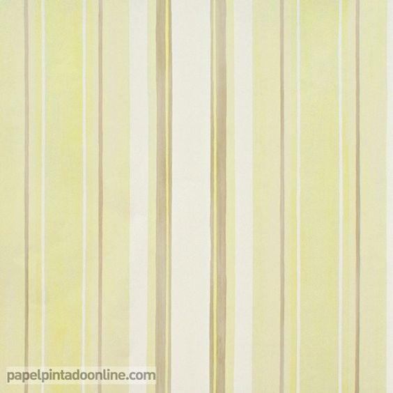 Papel pintado infantil babies 10145 con rayas verticales - Papel pintado a rayas verticales ...