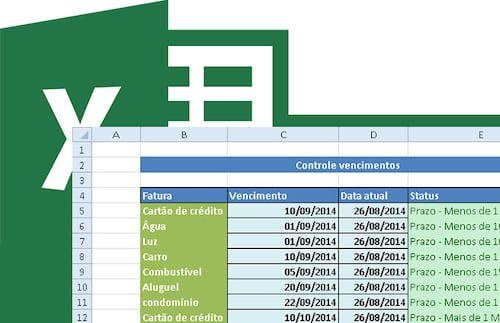 Planilha Para Controle De Datas De Vencimento No Excel 4 0 Com