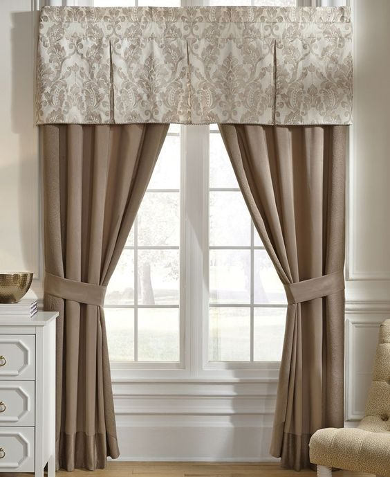"Croscill Madeline 51"" x 19"" Window Valance"