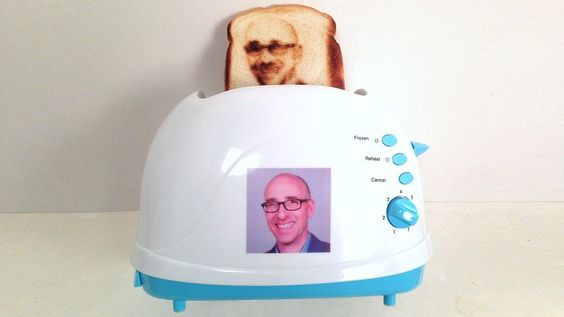 Custom Toasters That Can Toast a Selfie on Bread