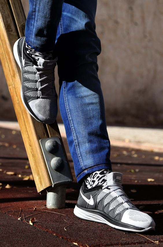 nike shox chaussures certifié - Nike Flyknit Lunar 2 Grey & Black. | Ide Penginspirasi | Pinterest ...