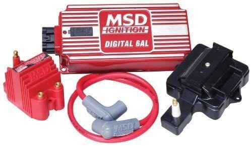 Msd 85001 Digital 6al Ignition Super Hei Kit In 2020 Digital Ignite Msd