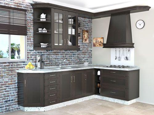 Mueble de cocina color negro cocina pinterest colores - Colores de muebles de cocina ...