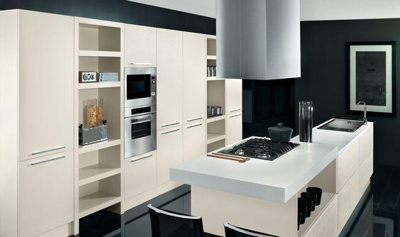 Holz Küche Aus Furnier Diamante Kronleuchter Schwarz Design Lösung | Ideen  Rund Ums Haus | Pinterest