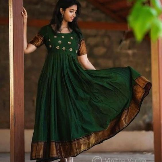 South Indian Gown : Green Anarkali South Indian Fashion Gown Mongoosekart Brings for you Huge collection of South Indian fashion gown, South Indian Dresses, South Indian Gows, South Wedding gowns, South Wedding dresses. Click Mongoosekart.com For more information.