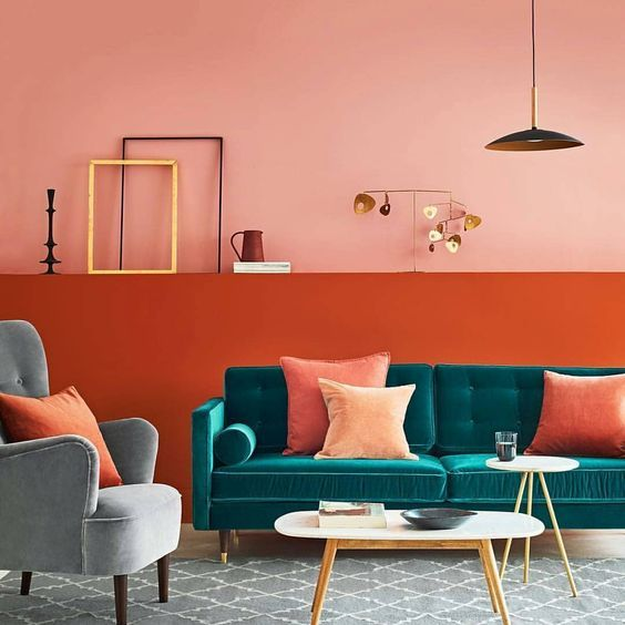 Vibrant Decor Ideas Ottiu Beyond Upholstery In 2020 Teal Sofa Living Room Coral Room Teal Living Rooms #teal #sofa #living #room #ideas