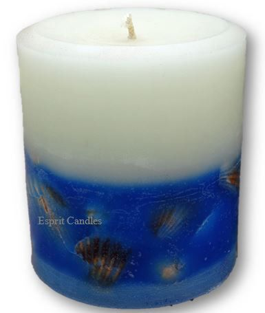 Coastal Inspired Candle, designed by Esprit Candles for the discerning Beach Lover.