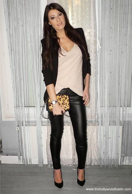 nice skinny jeans night out outfit