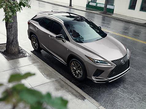 2020 Lexus Rx Luxury Crossover Gallery Lexus Com