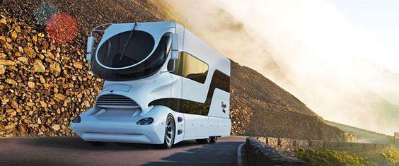 Já temos visto muita tecnologia no que diz respeito a autocaravanas e às maluqueiras que se fazem no Dubai mas esta surpreendeu. Com comodidades como lareira, terraço e até um jacuzzi.Custa apenas 3 milhões, brincadeira para …