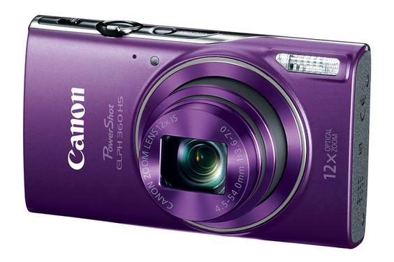 Elph 360 Hs In Purple Canon Powershot Elph Canon Powershot Powershot