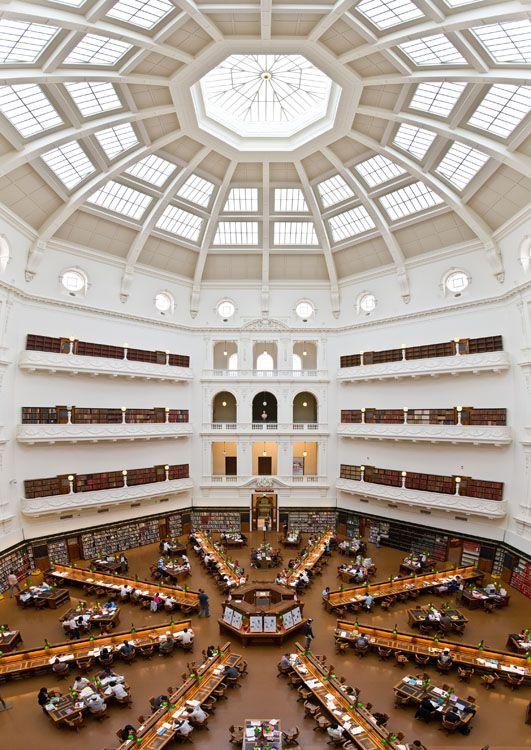 23. State Library of Victoria, Melbourne, Australia
