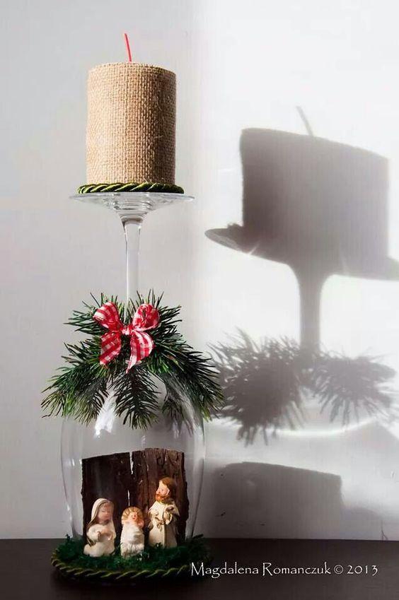 20 idee regalo fai da te semplici originali e veloci - Bicchieri decorati per natale ...