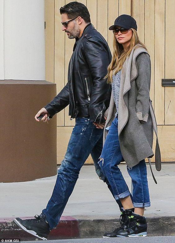 Birthday breakfast: Modern Family star Sofia Vergara and her husband, Joe Manganiello, loo...