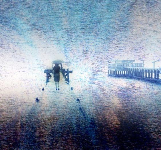 Foggy Pier Edit by:  William C. Blodgett