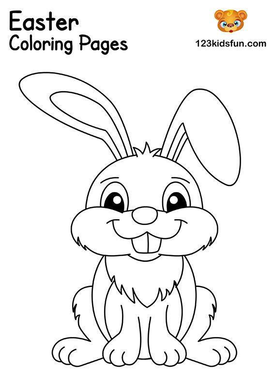 Free Easter Coloring Pages For Kids Em 2020 Com Imagens