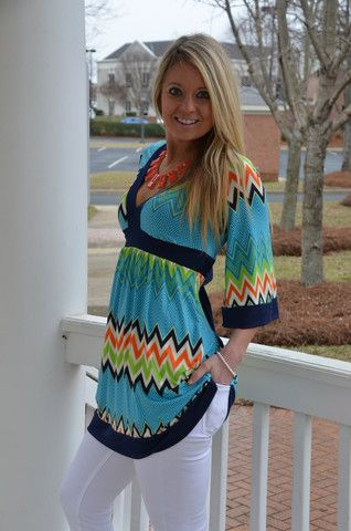 Remember the Day tunic, blue – Chapter 2 Boutique