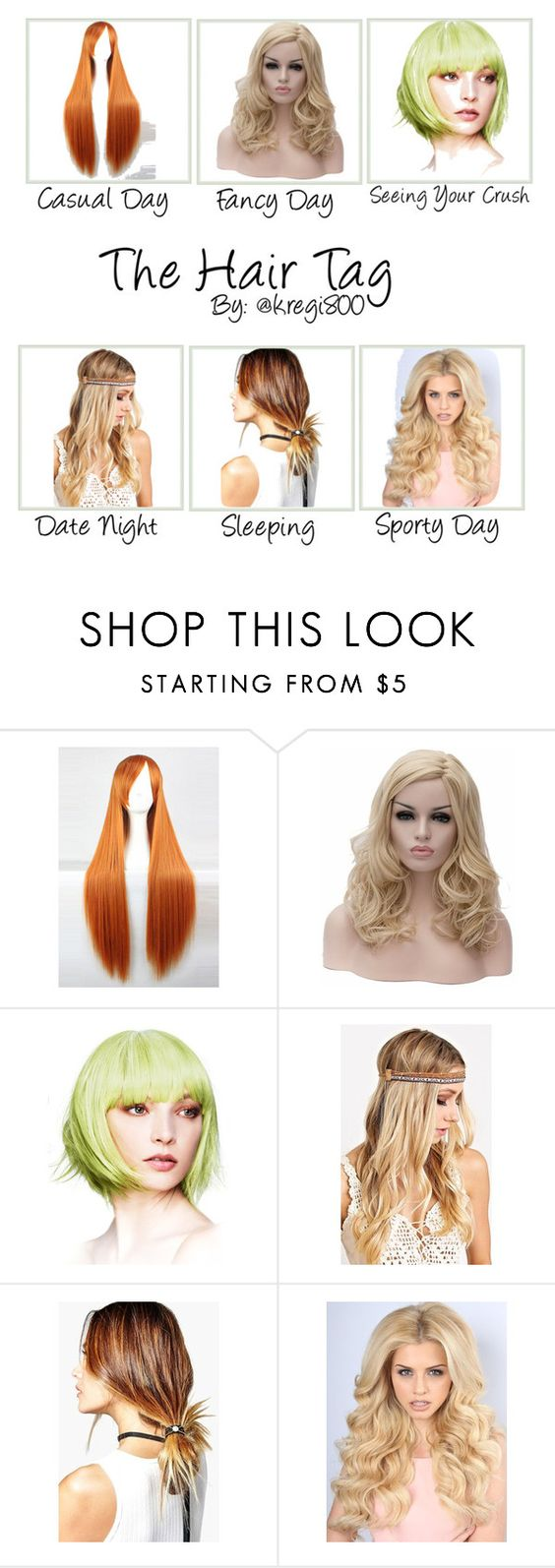 """""""Hair styling"""" by oldcastlechrista on Polyvore featuring Boohoo"""