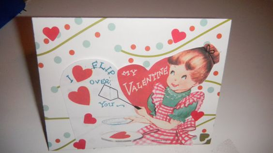 Woman from the 1950s or 1960's wishing a by GardenofPleasantries, $4.00