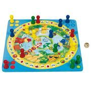 Bears Ludo Board Game.    All generations will love this game. Up to four players. Large board game, quality wood. Note: Extra large size.  50x50cm. 3yrs+