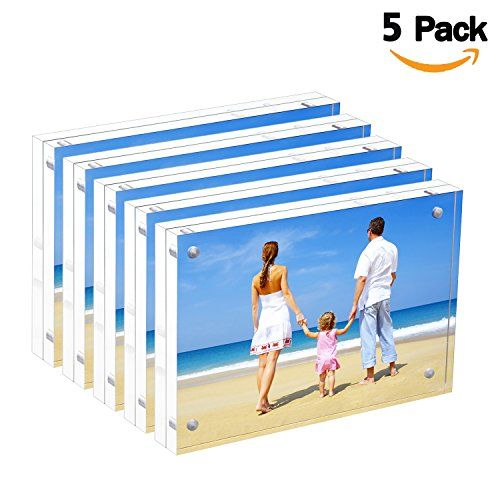 Bulk Acrylic Picture Frames 4x6 Clear Double Sided Bloc Acrylic Picture Frames Clear Picture Frames Picture Frames