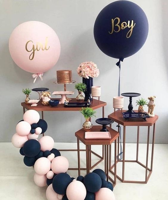 New Baby Rose Gold Baby Shower Gender Reveal Game Gender Reveal Pinata Baby Shower Gift Baby Shower Gender Reveal Ideas