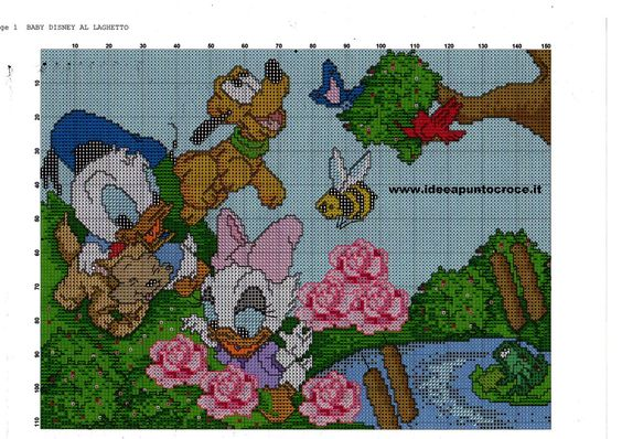 BABY DISNEY CROSS STITCH by syra1974 on DeviantArt