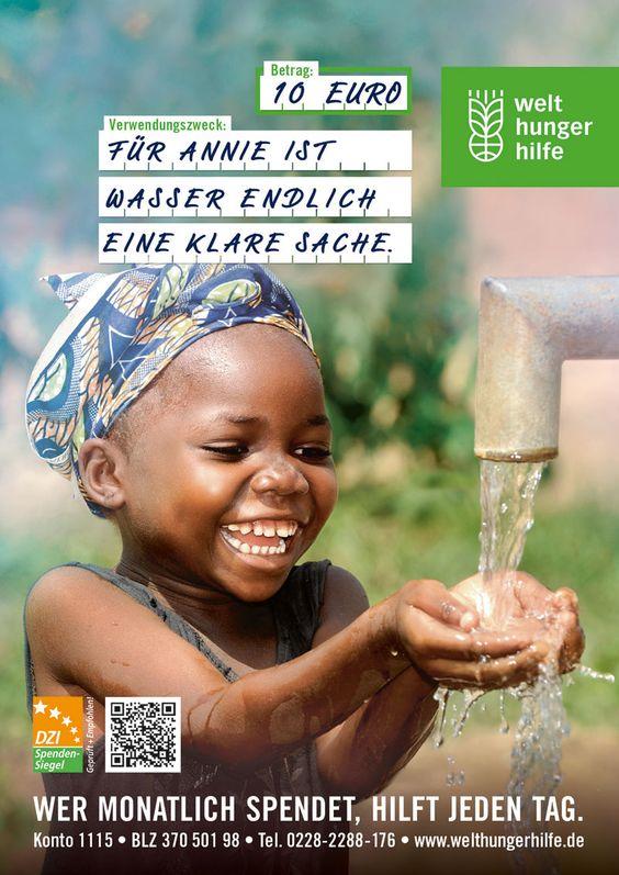 Kampagne für die Welthungerhilfe e. V., von Zum Goldenen Hirschen