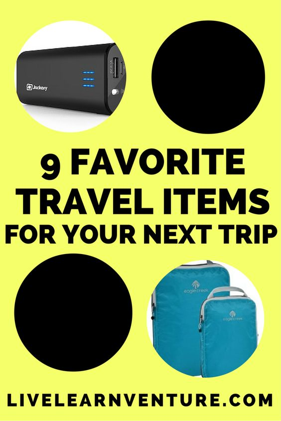 9 Favorite Travel Items for Your Next Trip! #travel #traveltips #traveling #travelblog #travelproduct