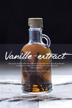 Ik koop nooit meer kunstmatige flesjes uit de supermarkt, dit recept voor vanille-extract is zo simpel :)