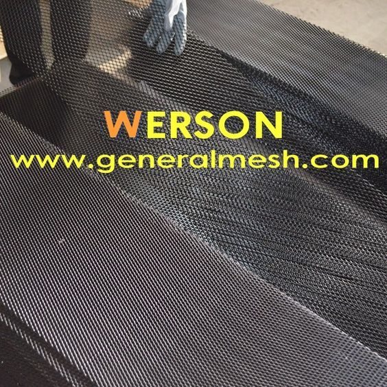 Specificatie De Kleur Zwart Materiaal Aluminium Grootte 40 X13 100 33cm Maaswijdte 8 Mm 16 Mm 0 32 Diamond Mesh Custom Grill