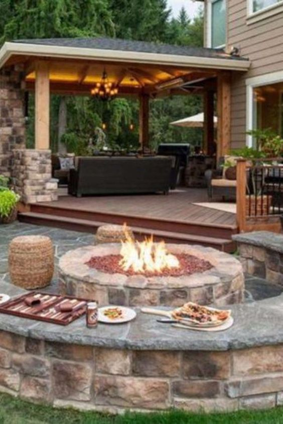 Backyard Fire Pit Ideas And Designs For Your Yard Deck Or Patio Clever Diy Ideas Fire Pit Patio Backyard Patio Designs Outdoor Fire Pit Designs
