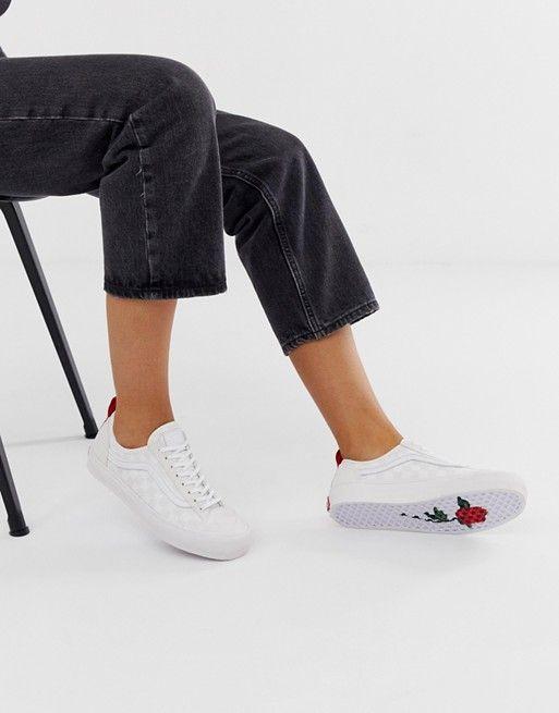 Vans Leila Hurst decon Style 36 white trainers | White