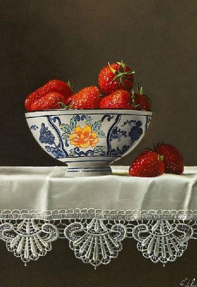 Johan de Fre Strawberries 21st century
