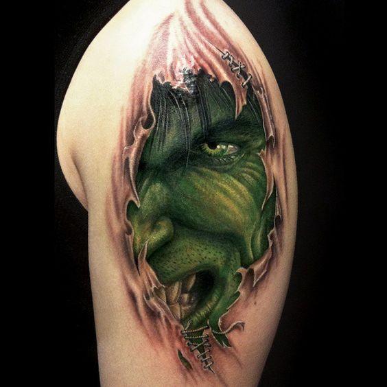 #mulpix  #헐크  #어벤져스  #hulk  #marvel  #avengers  #tattoo  #marvelcomics  #instasize  #tattooistartmag  #green  #power  #face  #colortattoo  #hero  #real  #korea  #stiloallday @sulta_cocktail