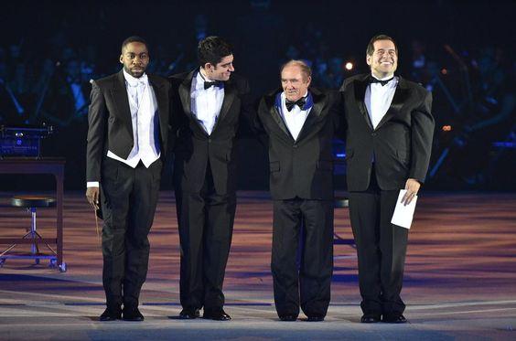Lázaro Ramos,  Marcelo Adnet,  Renato Aragão e Leandro Hassum abrem as comemorações no especial #Globo50anos