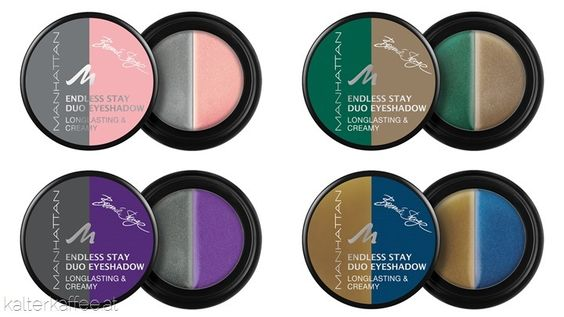 You can cry, rub and blink, it still stays on forever | Manhatten Endless Stay Duo Eyeshadow