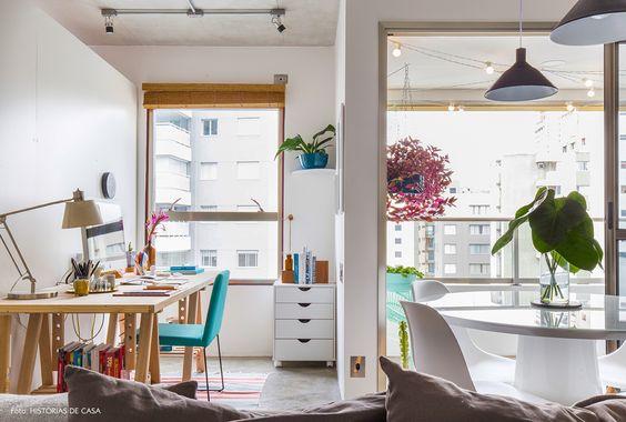 Ideias de home offices pra você se inspirar!