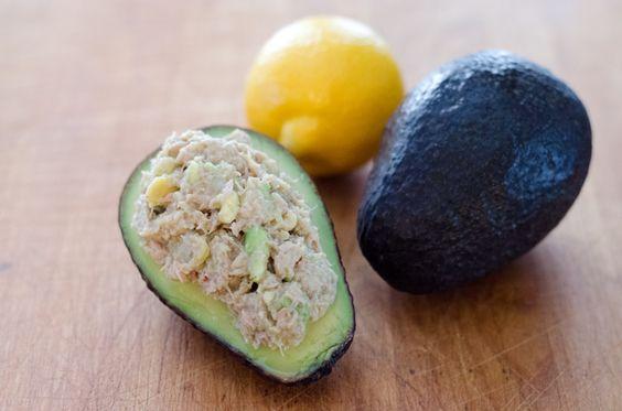 Paleo Avocado Tuna Salad
