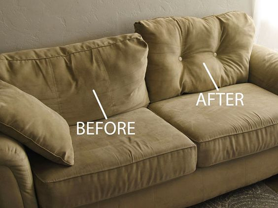 Fix Sagging Couch Cushions with This Cool Trick (For Under $1!)
