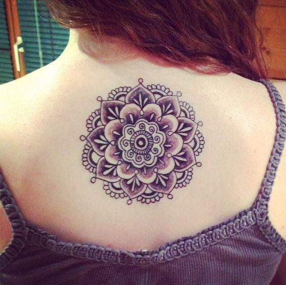 My mandala tattoo, love it, a lot of signification. Buddhism.