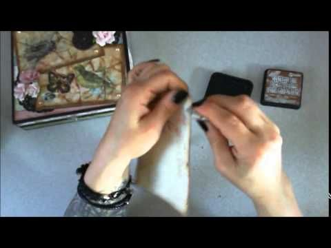 Decorated Wooden Box and Tutorial by Pattys Crafty Spot