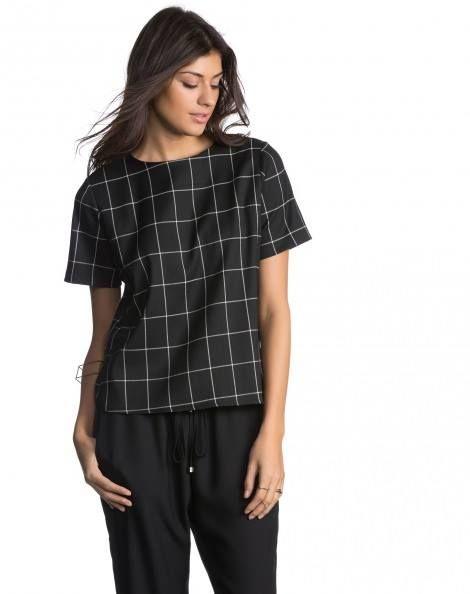 Obrigada d Nada!!   T-SHIRT URBAN CHECK  COMPRE AGORA!  http://imaginariodamulher.com.br/produto/t-shirt-urban-check/