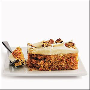 Recipe Makeover from Cooking Light April 2011 - Carrot Cake