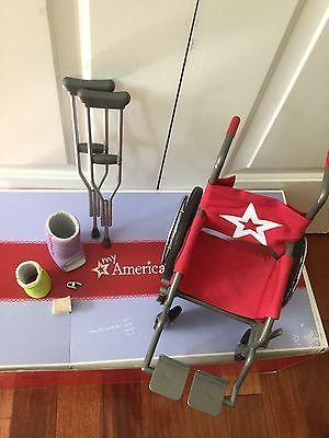 american girl wheelchair set with accesories https://t.co/9Fx4ReGdqz https://t.co/XgOrSlj2Qr