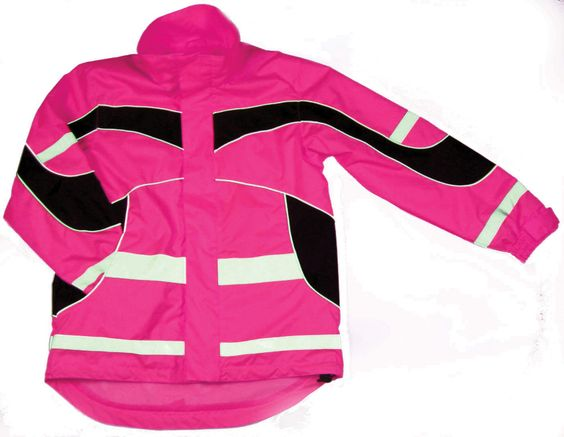 Equisafety Lightweight Aspey Fluorescent Reflective Riding Jacket