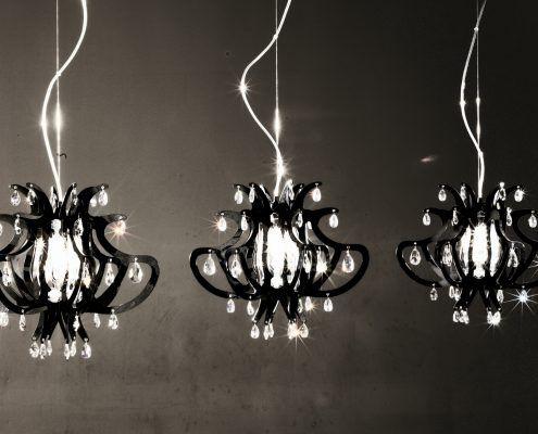 Cacciavillani Lampadari Reggio Emilia.Slamp Lillibet Mini Nero Lampade Illuminazione Saldi