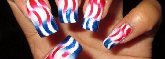 Nail Art Tutorial...  #prom nail art